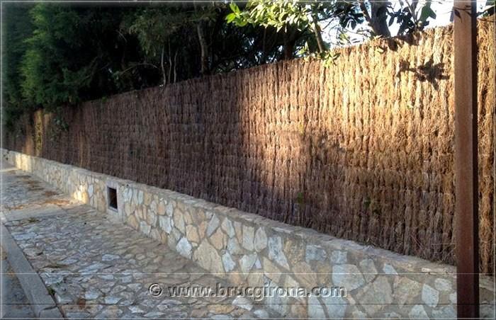 Vallas de brezo girona brezo natural para vallas de jard n - Setos para vallas ...