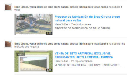 Visualizar videos de Bruc Girona en su canal de Youtube
