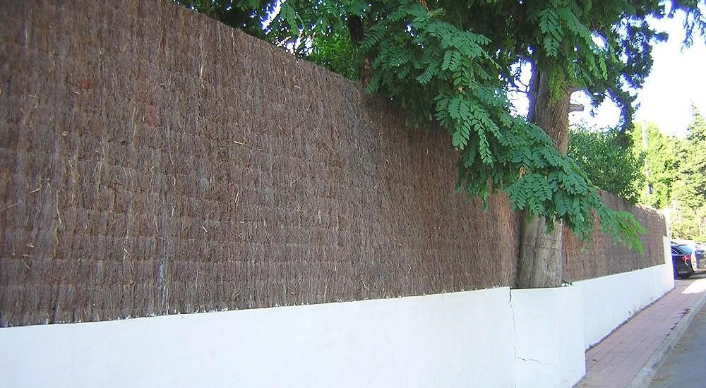 Brezo natural vallas de jard n ocultaciones f brica venta directa - Cierres de jardin ...