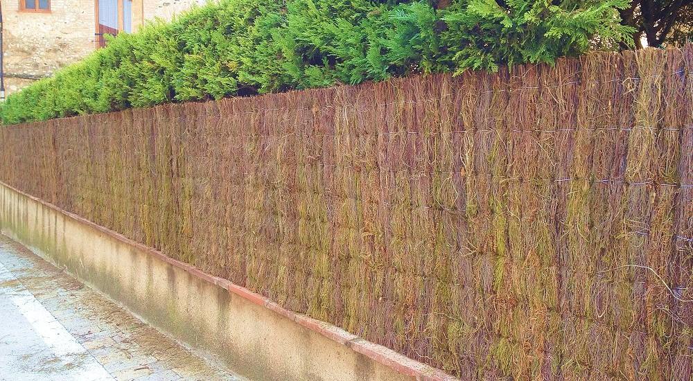 Brezo Natural Vallas De Jardin Ocultaciones Fabrica Venta Directa